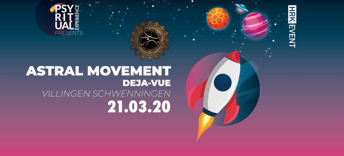 PsyRitual Experience pres. Astral Movement (Live) 21 Mar '20, 22:00