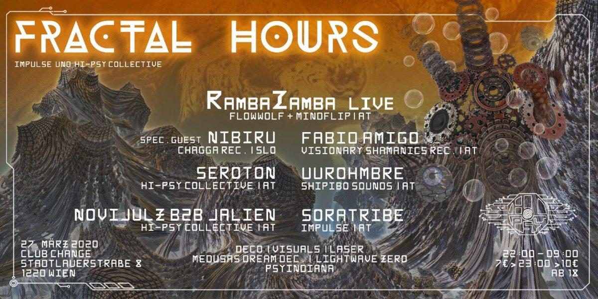 Fractal Hours 27 Mar '20, 22:00
