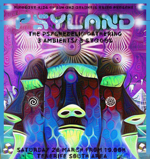 **PSYLAND** - THE PSYCHEDELIC GATHERING TF SOUTH 28 Mar '20, 22:00