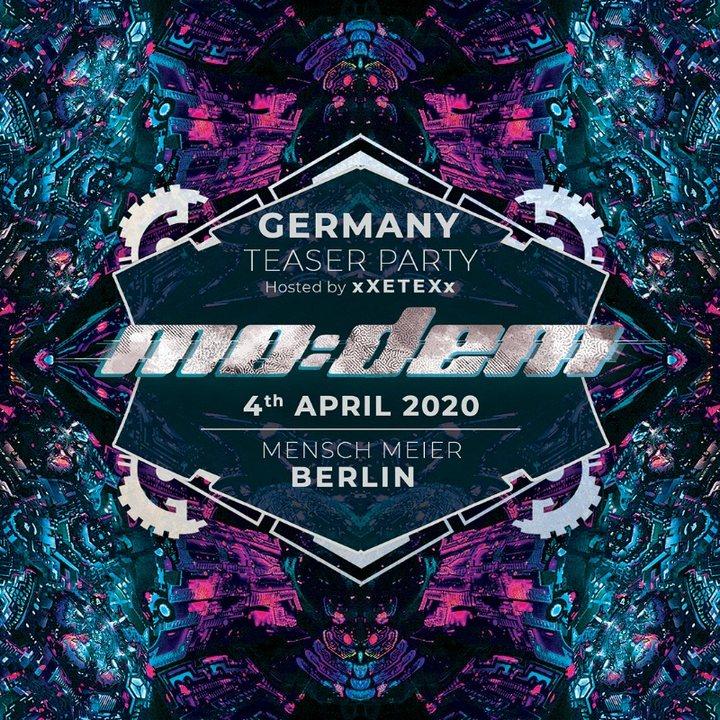 Mo:Dem Festival Official Teaser Berlin 2020 4 Apr '20, 23:30
