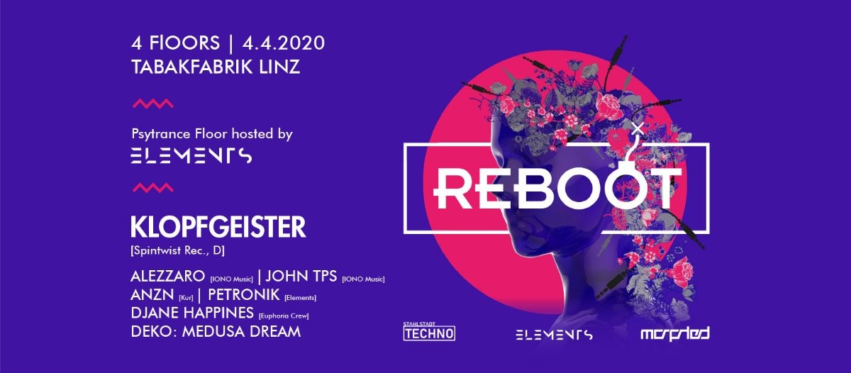 REBOOT EXTENDED 4 Apr '20, 21:00