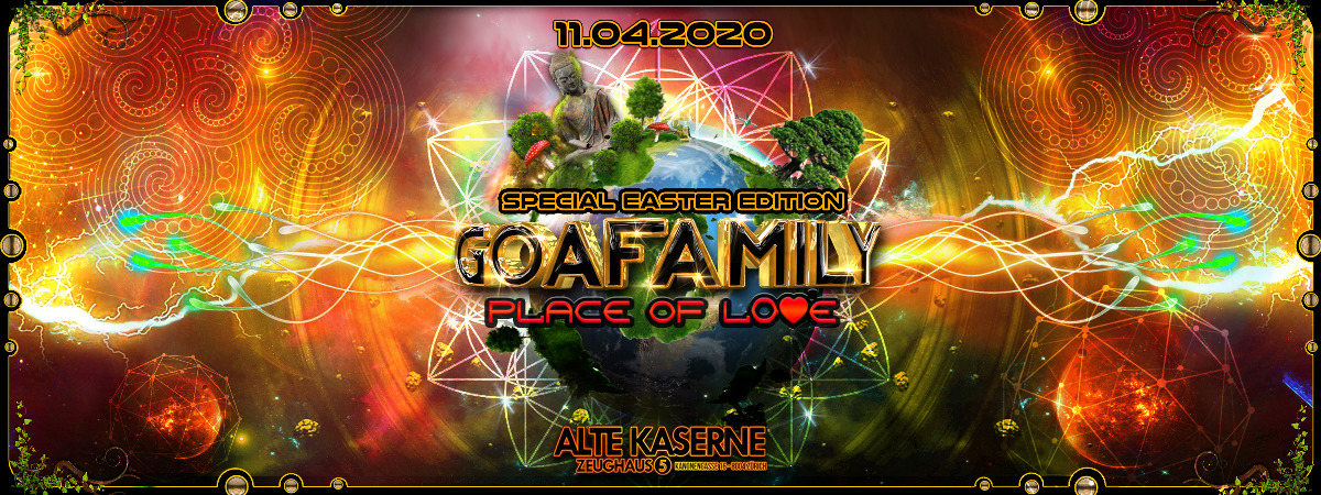 **GOAFAMILY Place of Love - Special Easter Edition** 11 Apr '20, 22:30