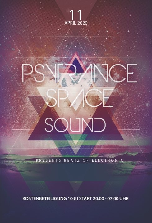 PsyTrance Space Sound 11.04.2020 11 Apr '20, 20:00