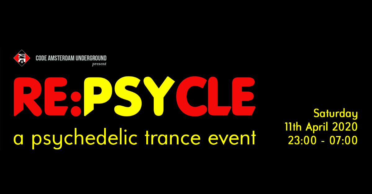 [POSTPONED] RE:PsyCle 11 Apr '20, 23:00