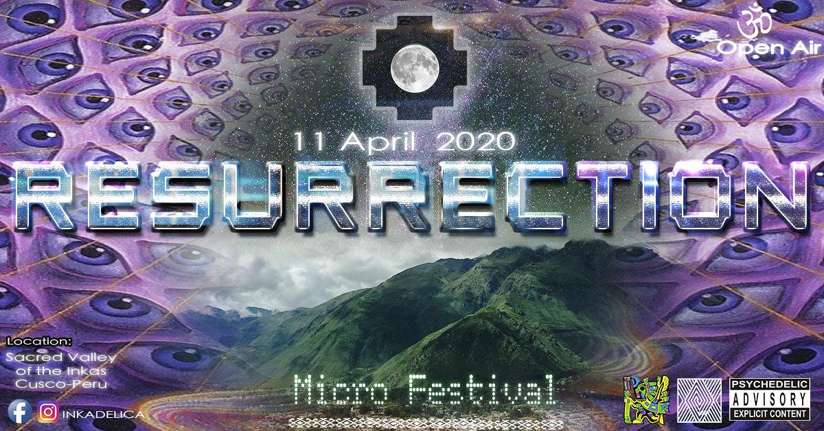 RESURRECTION - Micro Festival 3 Apr '21, 16:00