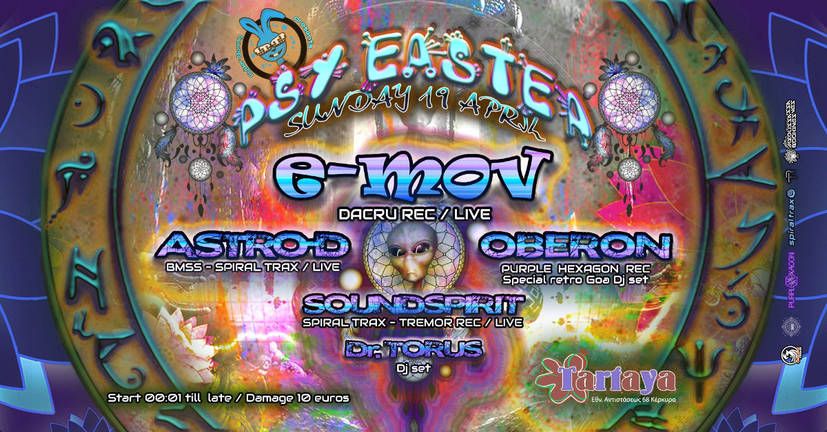 Cyber Bunny presents PSY EASTER 19 Apr '20, 23:30