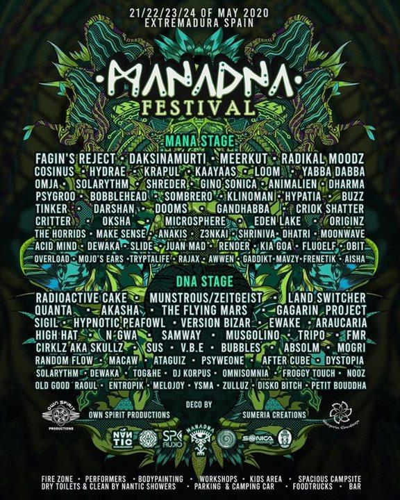 MANADNA FESTIVAL 2020 21 May '20, 14:00