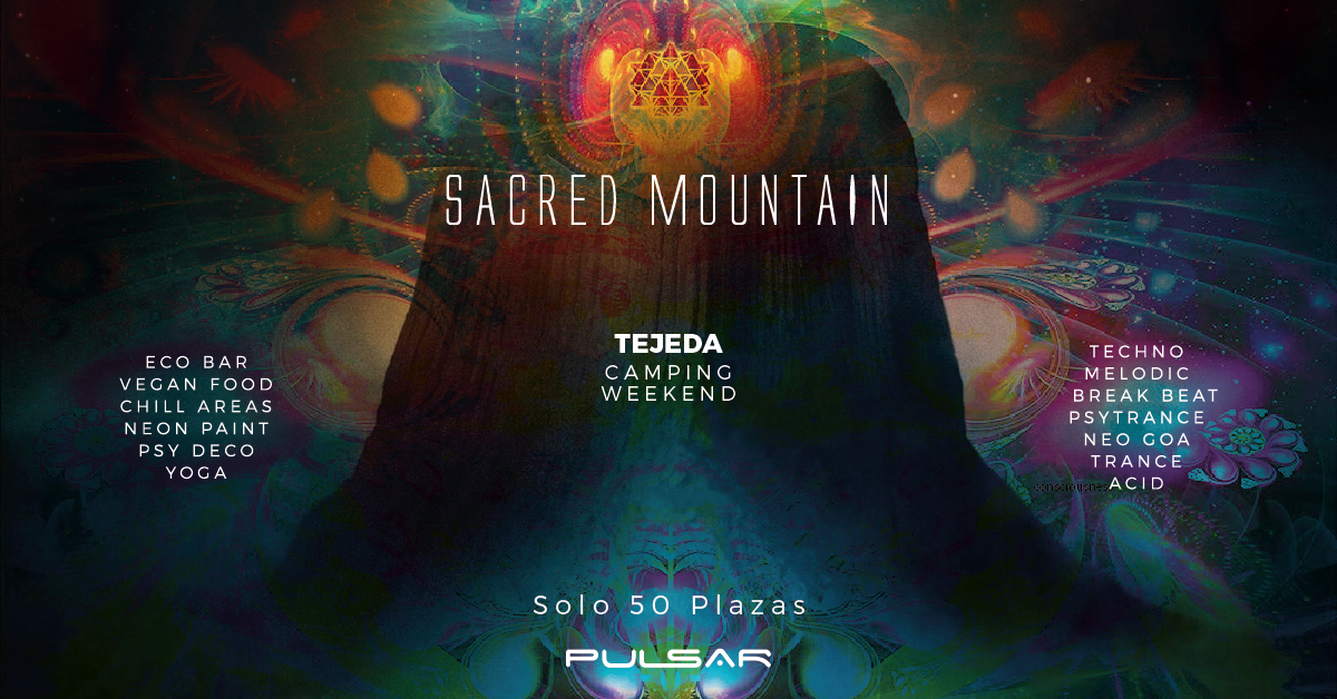 Sacred Mountain (Camping Weekend) 10 Jul '20, 12:00