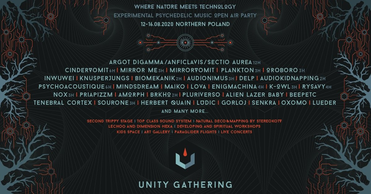 Unity Gathering 2020 - Where Nature Meets Technology 11 Aug '20, 22:00