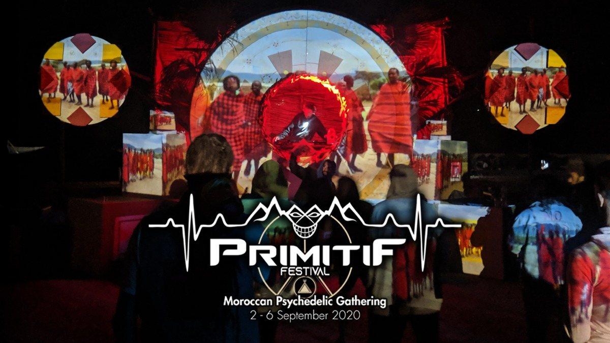 Primitif Festival 2020 - Moroccan Psychedelic Gathering 2 Sep '20, 12:00
