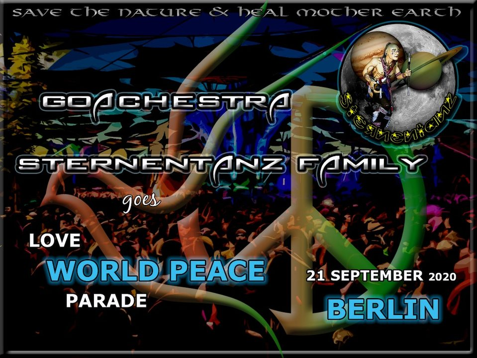 Goachestra Sternentanz goes Love World Peace Parade 2020 21 Sep '20, 10:00