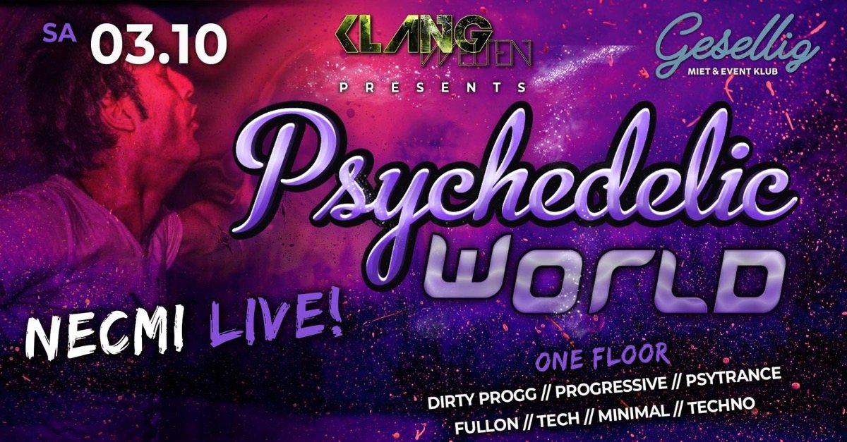 Psychedelic World | Necmi Live 3 Oct '20, 22:00