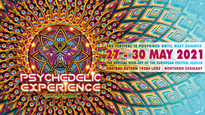 Psychedelic Experience Festival 2021 27 May '21, 14:00