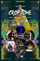 Party flyer: CROP TIME 18 Apr 15, 12:00h