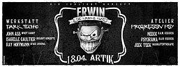 Party flyer: Erwin und die kranke Kunst 18 Apr 15, 23:00h