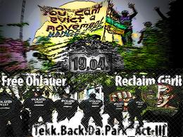 Party flyer: Tekk Back Da Park - Act III 19 Apr 15, 12:00h