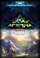 Party flyer: Arkana pre party in lima 24 Apr 15, 21:00h