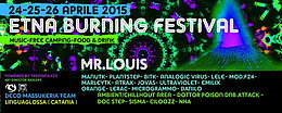 Party flyer: ETNA BURNING GOA FESTIVAL FIRST EDITION 24 Apr 15, 16:00h