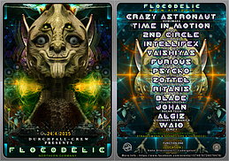 Party flyer: FLOCODELIC OPEN AIR 2015 by Durchfall Crew 24 Apr 15, 21:00h