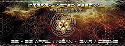 Party flyer: Intergalacted Festival Pre Event 25 Apr 15, 09:00h
