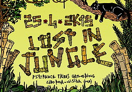 Party flyer: LOST IN JUNGLE 25 Apr 15, 22:00h