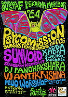 Party flyer: Psykarna FreeDooM 25 Apr 15, 23:00h