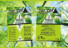 Party flyer: DAY_OFF 1. Mai 15, 11:30h