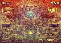 Party flyer: Uprising Edition II * Hi Tech Rising* 1. Mai 15, 14:00h