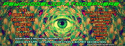 Party flyer: ★Psychedelic Atmosphere★  / / Dirty Saffi, Chorea Lux uvm. / pres. by OFZ 15 May 15, 21:00h