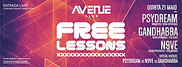Party flyer: Free Lesson - Entrada Livre 21 May 15, 23:30h