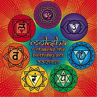 Party flyer: Dancing Budhas presents Dj Moksha 7 Chakras 7hs Special Set 22 May 15, 23:30h