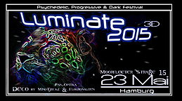Party flyer: 2 AREA´s  >>>Luminate 2015 3D<<< 23 May 15, 22:00h