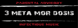 Party flyer: (3) Meta Mor Dosis 23 May 15, 23:00h