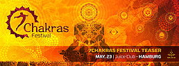 Party flyer: 7CHAKRAS Festival Teaser 23 May 15, 23:00h
