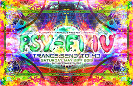 Party flyer: Psy-Fi 4 /// Level Up : 4th Dimension! [Free Gathering] 23 May 15, 21:00h