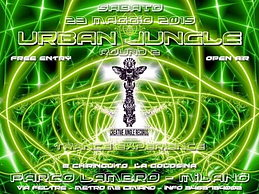 Party flyer: uRBaN JuNgLe Double Impact Round 2 parte 1 - OPEN AIR & FREE PARTY 23 May 15, 22:00h