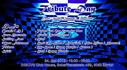 Party flyer: Tribute Day 24 May 15, 18:00h