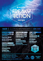 Party flyer: FREAKY FICTION 27 May 15, 23:00h