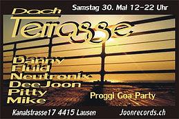 Party flyer: DayDance Proggi Goa 30 May 15, 12:00h