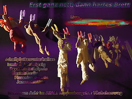 Party flyer: Erst ganz nett, dann hartes Brett 30 May 15, 20:00h