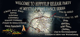 Party flyer: MYSTIC RITUAL DANCE HIPPYFLIP RELEASE STAMPF´N EIN ! ☮ ♫ ☼ ♪ ❂ 30 May 15, 21:30h