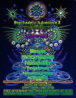 Party flyer: Psychedelic Adventure 3 by Progressive Foundation + FREE AFTERHOUR 30 May 15, 22:00h