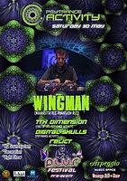 Party flyer: Psytrance Activity presents PLUR Festival Pre-Event 30 May 15, 23:00h