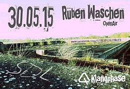 Party flyer: Rüben Waschen 30 May 15, 20:00h