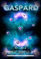 Party flyer: Tales of Acacia - Feat GASPARD live / dj set 30 May 15, 23:00h