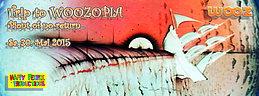 Party flyer: TRIP TO WOOZOPIA - POINT OF NO RETURN | BUBBLE - MANDRAGORA -  8THSIN amny more 30 May 15, 22:00h
