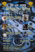 Party flyer: WHEEL OF TIME 30 May 15, 23:00h