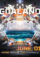 Party flyer: GOALAND Open air Full Moon Edition 1 Jun 15, 22:00h