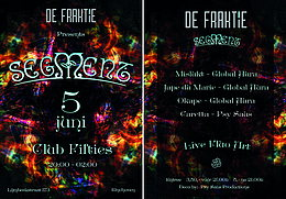 Party flyer: Segment 5 Jun 15, 20:00h