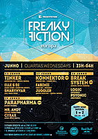 Party flyer: FREAKY FICTION 24 Jun 15, 23:00h